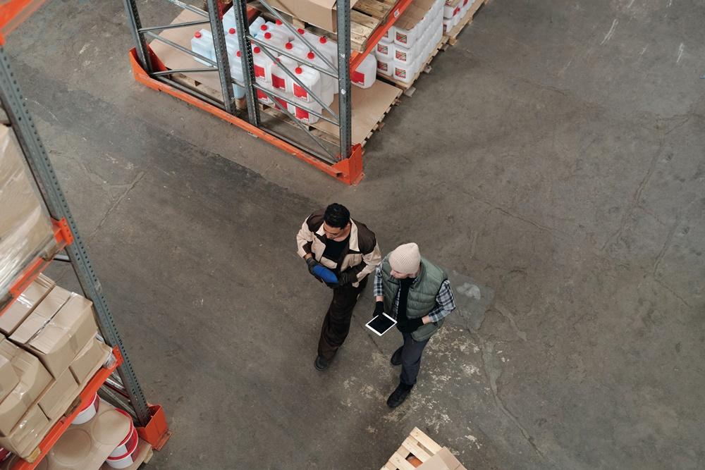 separação de pedidos na logística